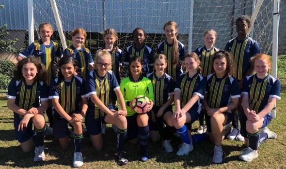 6 A Girls Soccer