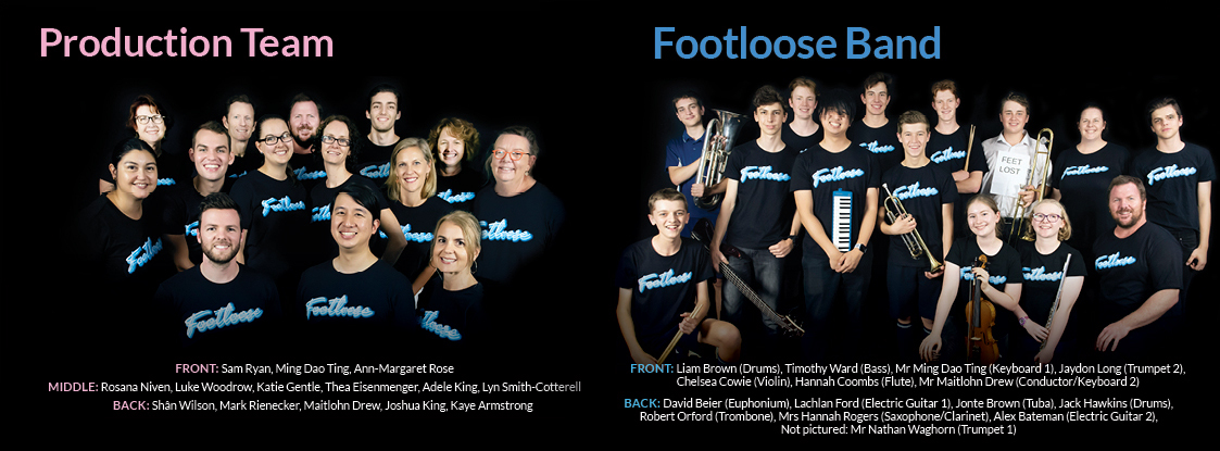 Footloose Program Fa4 Pages Band