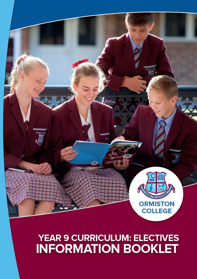 Year 9 Curriculum: Electives Information Booklet