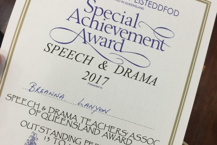 Drama Eisteddfod 8