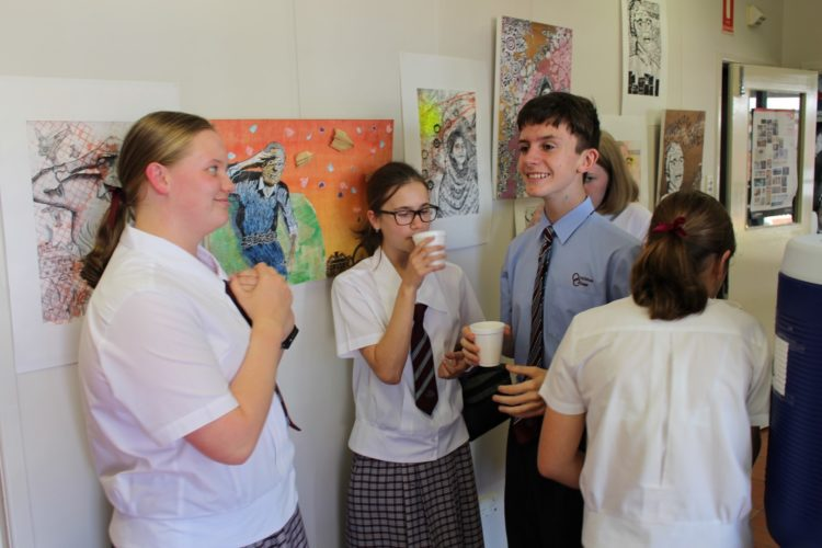 Year 9 Art Exhibition 10