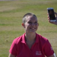 Going Bald For Breast Cancer 9