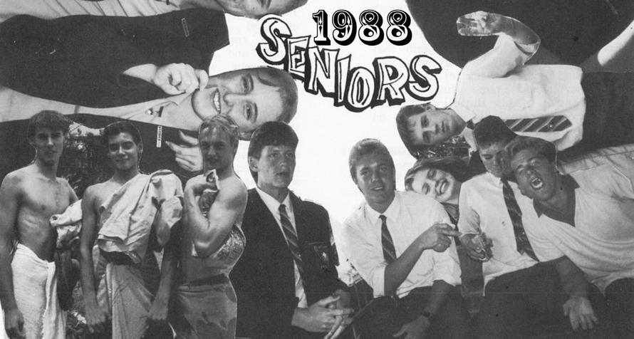 Class Of 1988 Banner