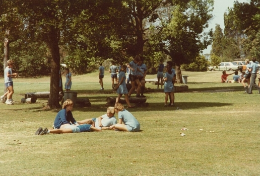 1983 Students At Lunch