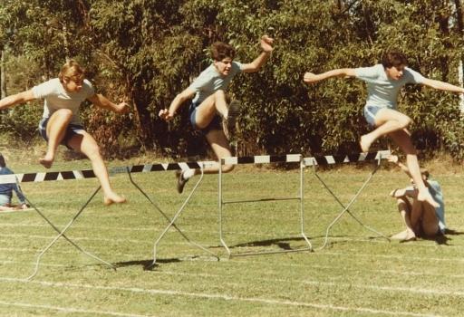 1984 Athletics Day Hurdles