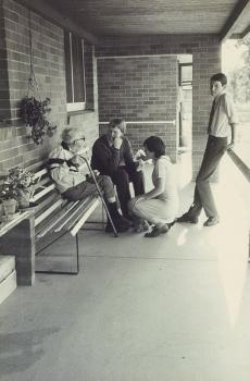 1986 Community Service Visits Trinder Park