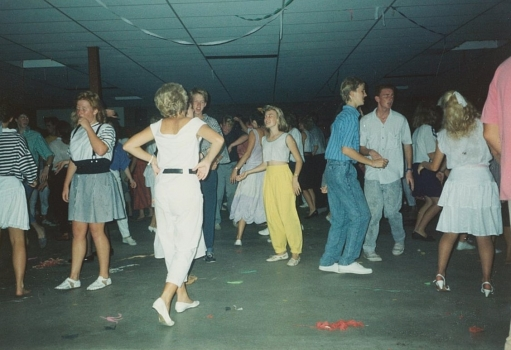 1988 School Dance In A Block