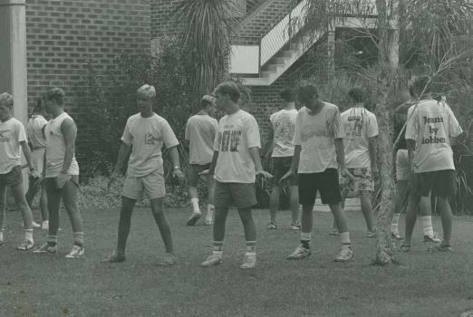 1990 Bye Bye Birdie Rehearsal Teaching Boys To Dance