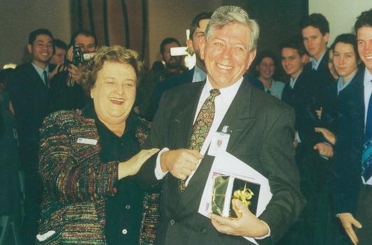 2001 R  Kleinschmidt Retirement