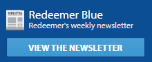 Redeemer's weekly newsletter