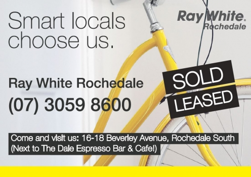 Ray White Rochedale Advert