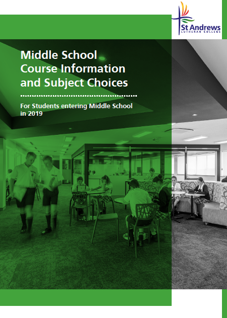 Middle School Elective Booklet 2019
