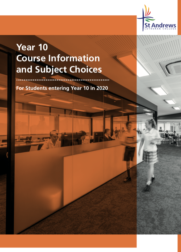 Year 10 elective booklet 2020