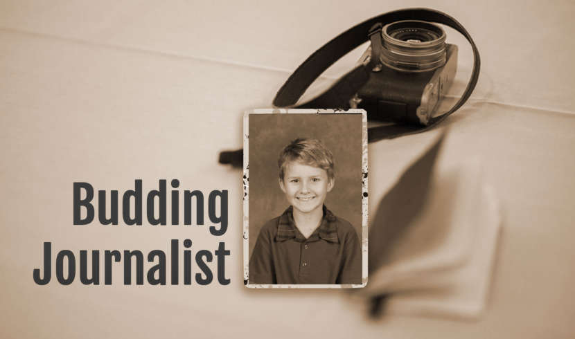 Budding Journalist Banner
