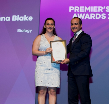 Brianna Blake Premiers Award