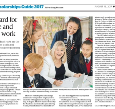 The Age Scholarship Aug2017