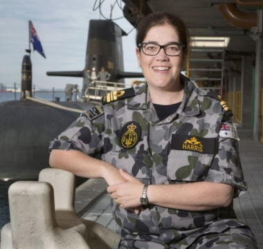 Lcdr Susan Harris Photo Credit Navy Daily