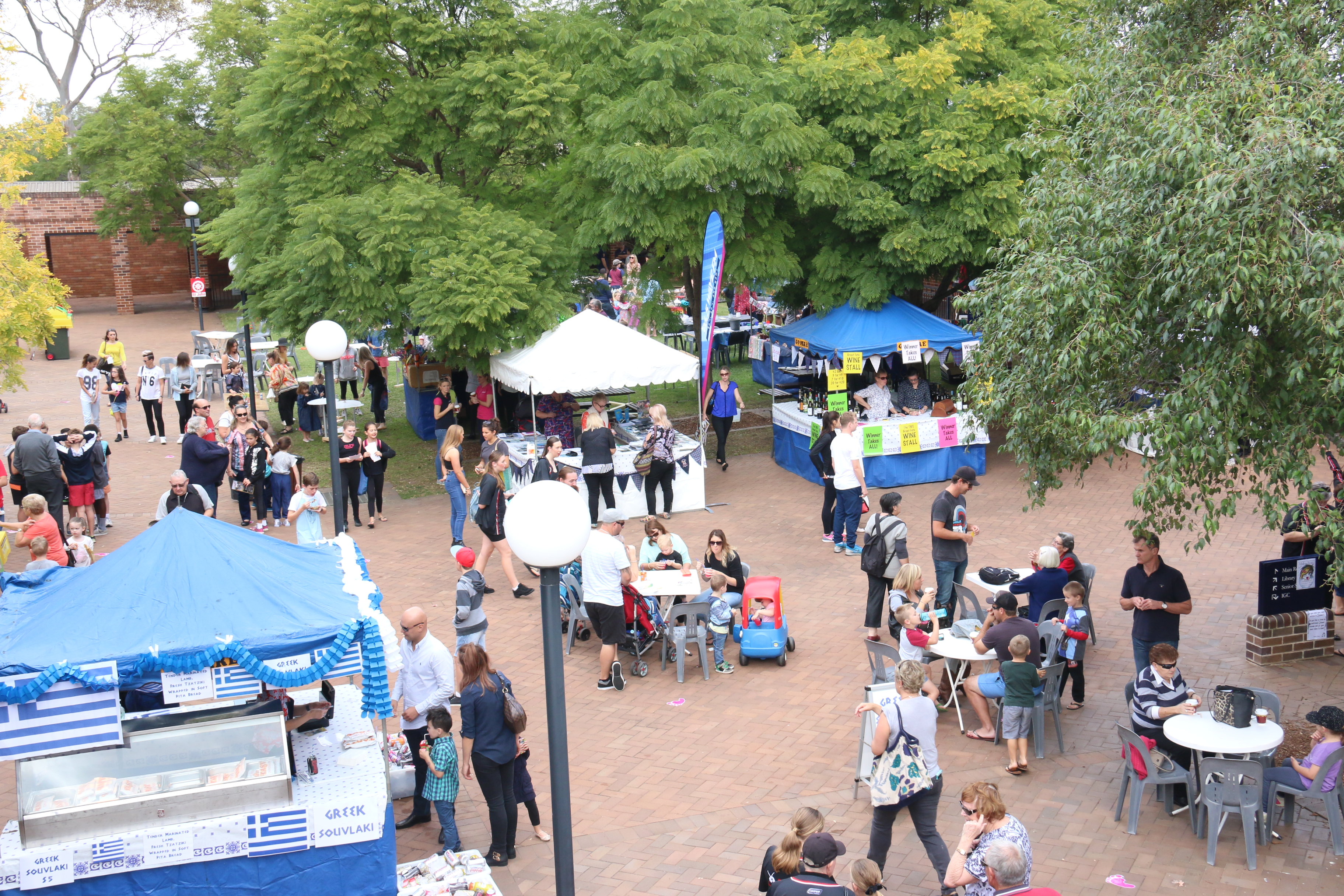 Every year families flock to the TIGS Great Fete to enjoy food, entertainment and the sense of community.