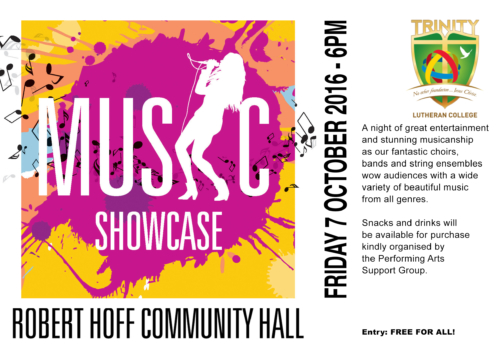 Music Showcase to wow audiences in Term 4