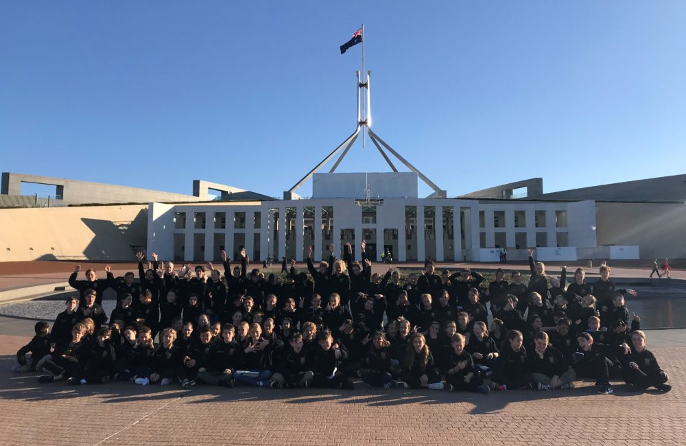 The 2018 Year 6 Trip to Canberra!
