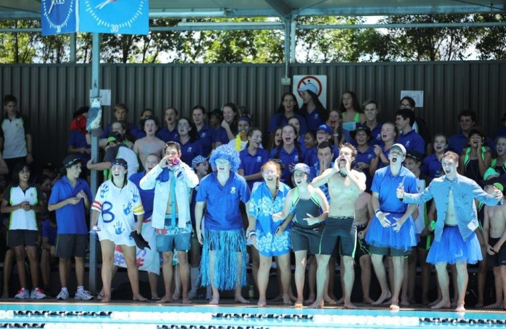 Our Inter-House Swimming Carnivals - A celebration of colour, fun and healthy competition.