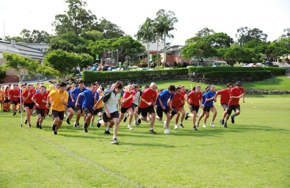Participation, Passion and Performance - Trinity's 2018 Inter-House Cross Country Carnival