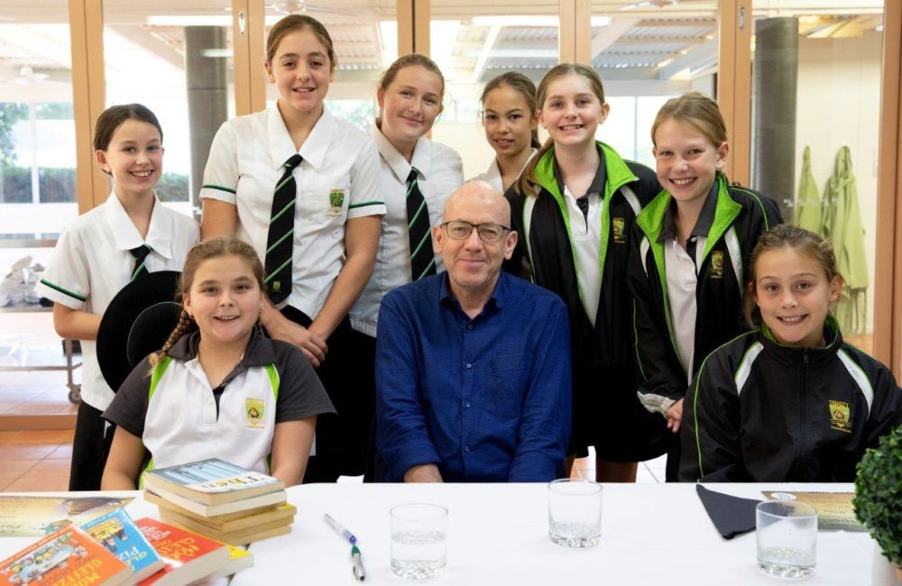 Meeting Morris Gleitzman: One of Australia's most popular children's authors.