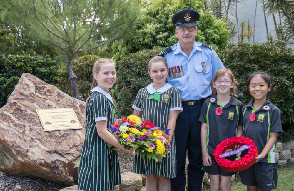 Honouring ANZAC Day is important for our children.