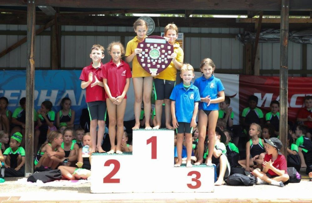 Sunshine, Smiles and Spirit - the perfect recipe for a successful Swimming Carnival!