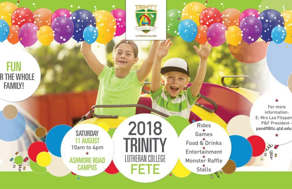 Trinity's 2018 College Fete!