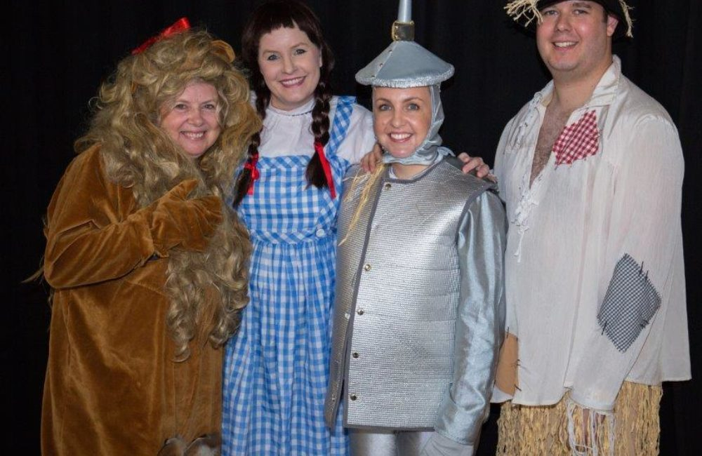 The Wonderful Wizard of Oz!