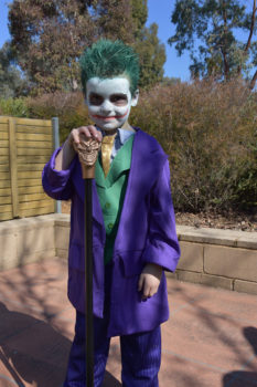 A Book Week Foundation Student Is The Joker