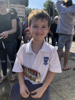 Anzac Day March 6