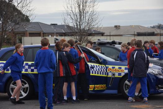 Cars Yr 5 Police Car Visit 31