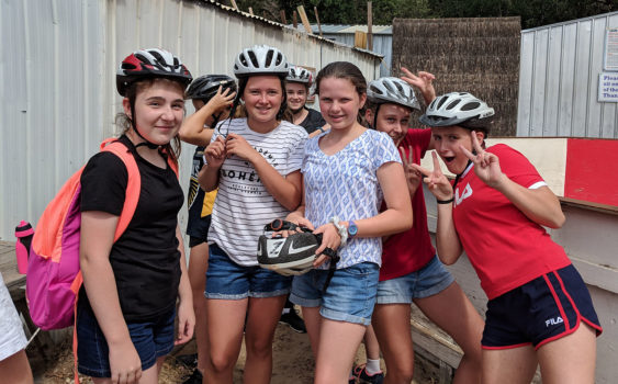14 Yr 8 Camp Bike Riding