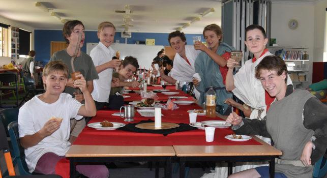 Yr 8 Medieval Day Boys Feast
