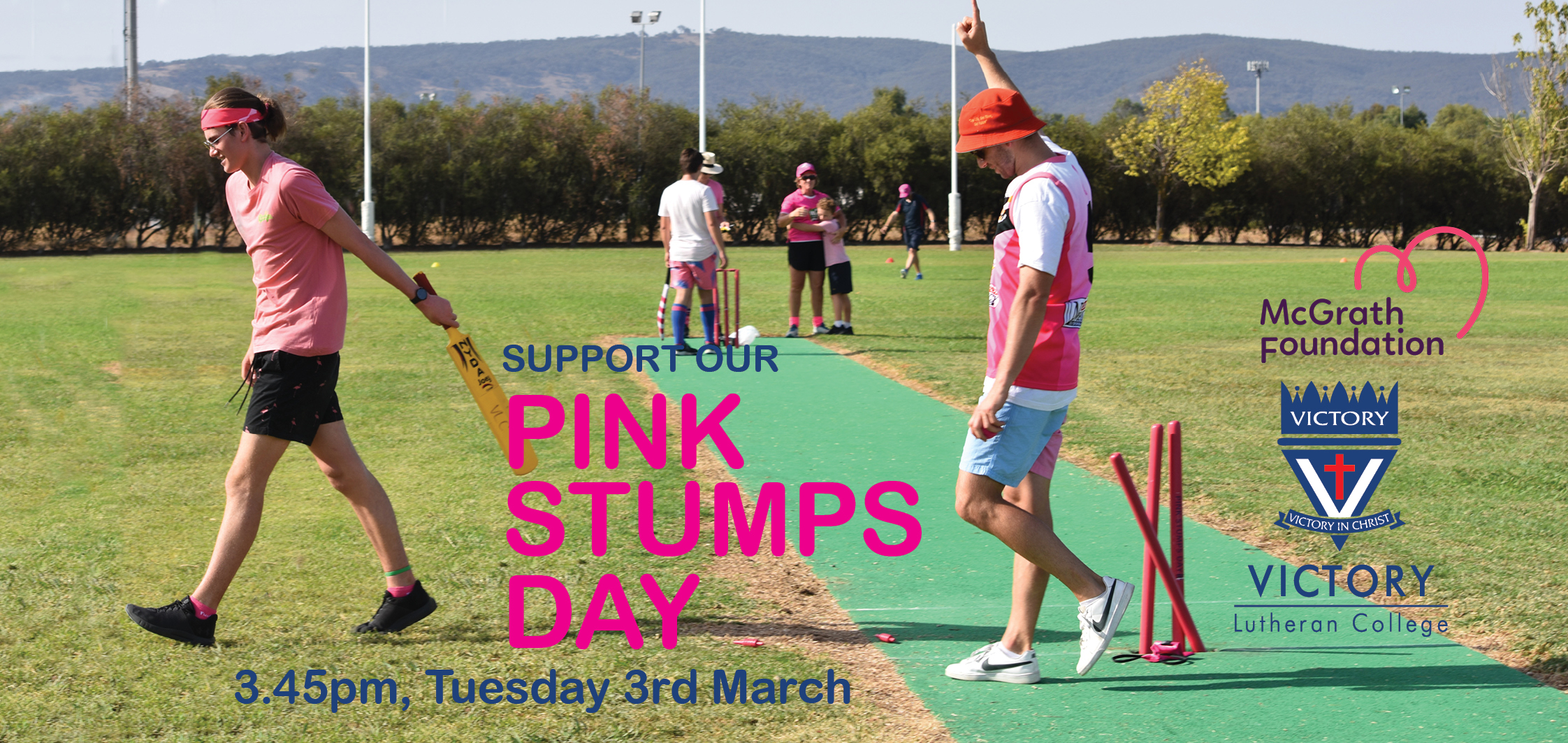 2020 Pink Stumps Day Vlc Clickview