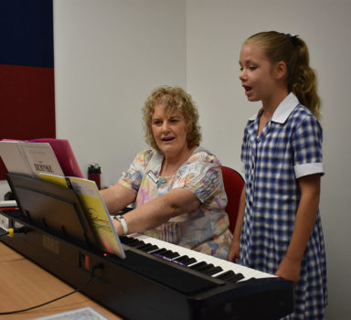 Instrumental Lessons Singing