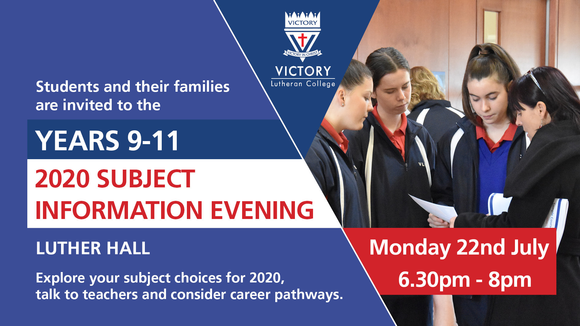 2020 Yr 9 11 Subject Information Evening