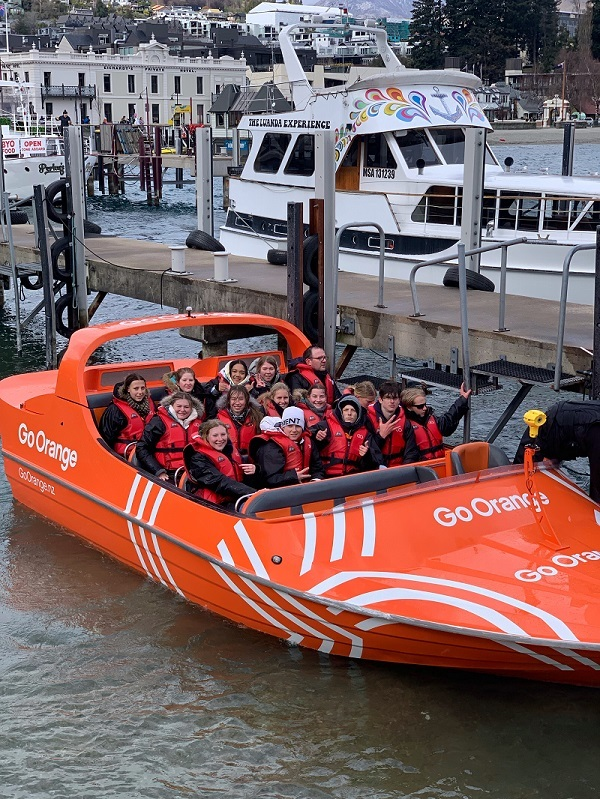 Jetboating in extreme conditions