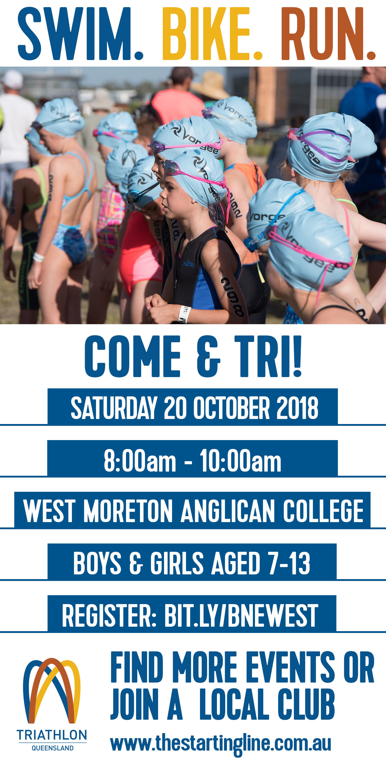 Come Tri Flyer Bne West
