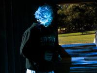 Blue Face By Oscar Mellor