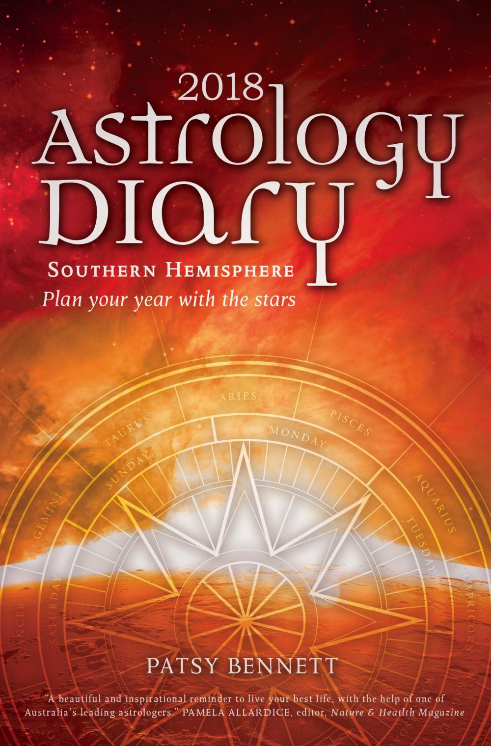 2018 Astrology Diary - Southern Hemisphe