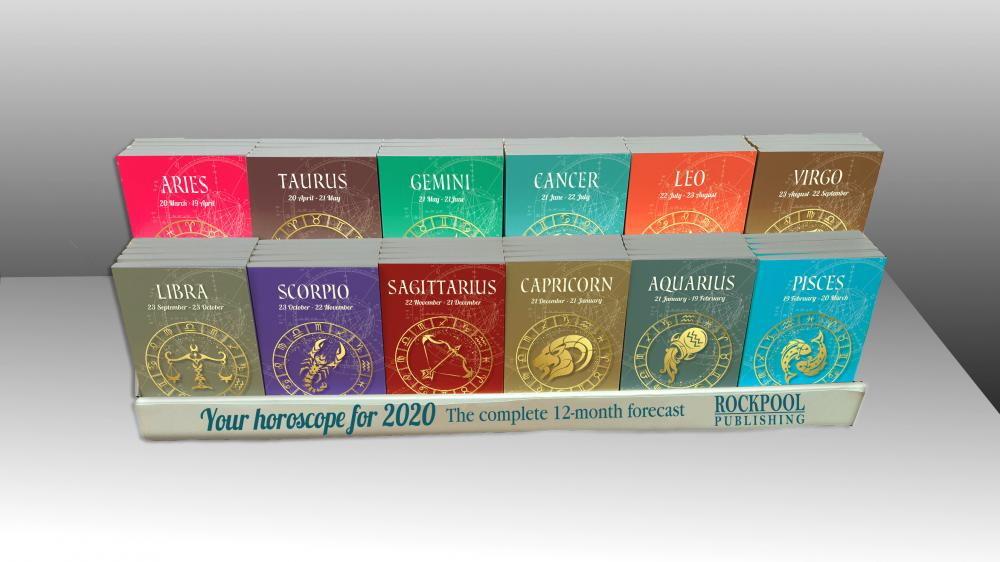 2020 Your Horoscopes - 60 pack counterpack