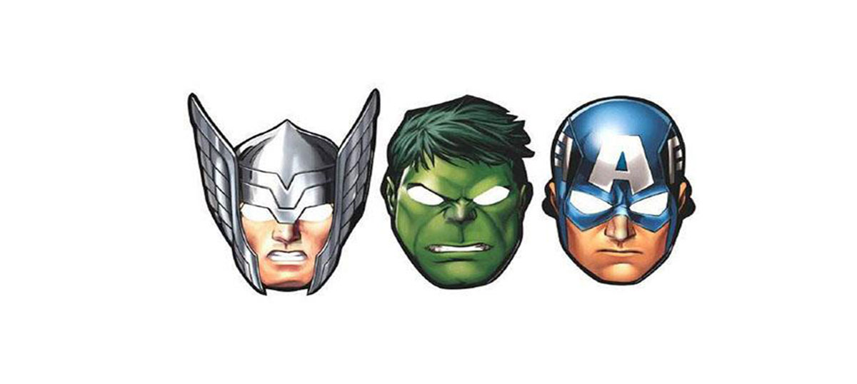 Avengers Party Mask