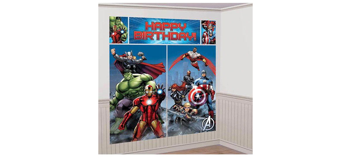 Avengers Party Wall Theme