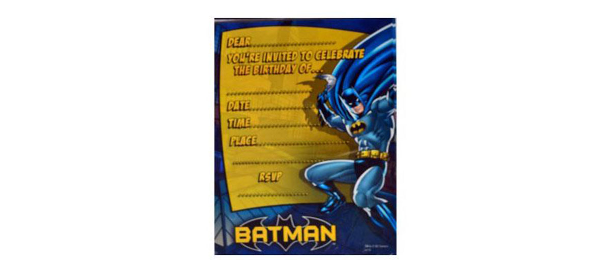 Easy Batman Party Theme Ideas | Kids Party Ideas | Discount Party ...
