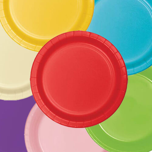 Paper Plates & Plates | Party Supplies | Discount Party Warehouse