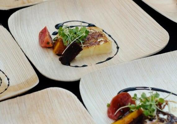 Palm Leaf Tableware Eco-Friendly