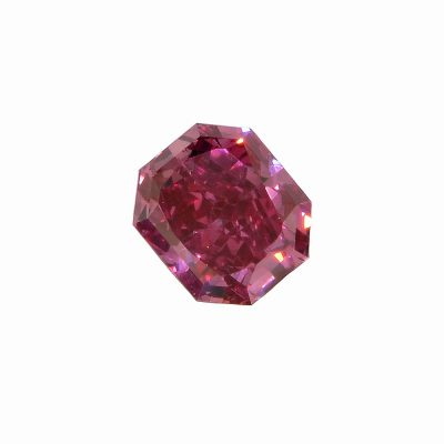 0.28ct Red Radiant